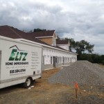 Eltz truck by house
